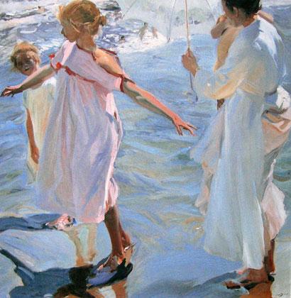 Sorolla - La hora del baño, 1909