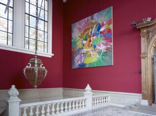 Hirst - Beautiful Vertumnus Stream of Consciousness Painting - 2007