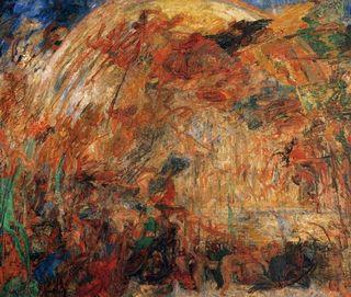 Ensor - Le Foudroiement des anges rebelles, 1889