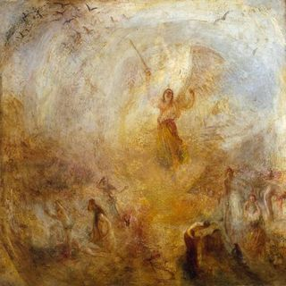 Turner - L'Age debout dans le soleil, 1846