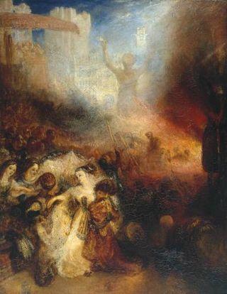 Turner - Shadrak, Méshak et Abdel-Négo dans la fournaise ardente, 1832
