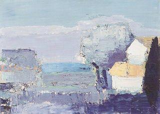 Nicolas de Stael - Paysage méditerrannéen, 1953