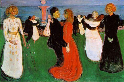 Munch - La Danse de la vie, 1899-1900