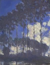 Monet - Les peupliers au bord de l'Epte, 1891