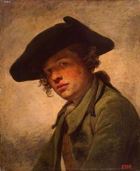 Greuze Jeune homme au chapeau