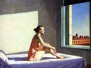 Hopper morning sun