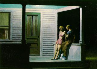 Hopper summer evening