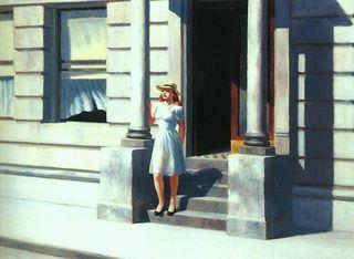 Hopper summertime