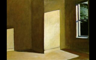 Hopper summer empty room